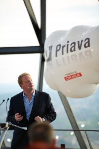 James Pegum, CEO of Priava